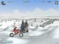 Winter bike racer