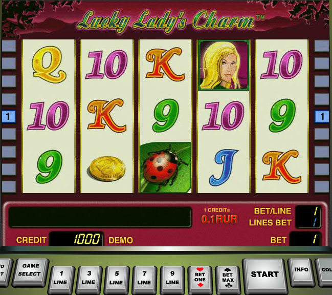 slot games lucky lady charm