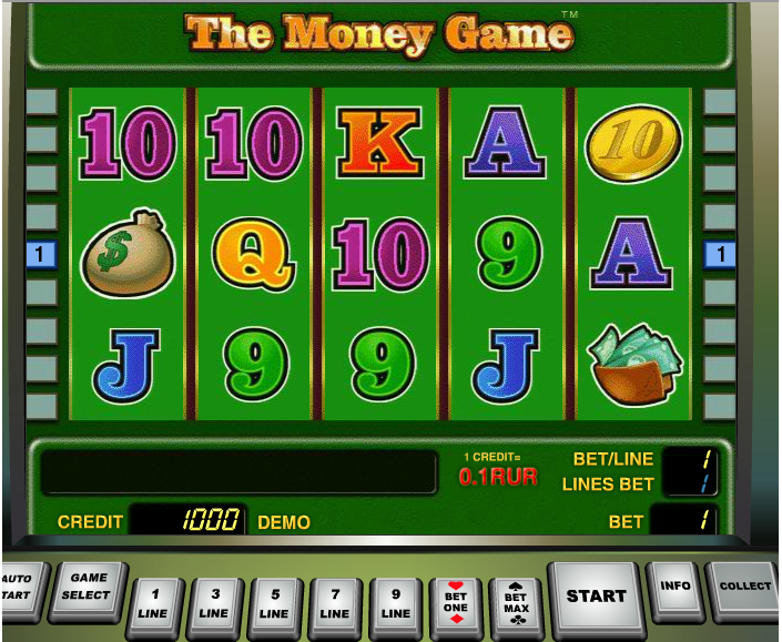 video slots for money